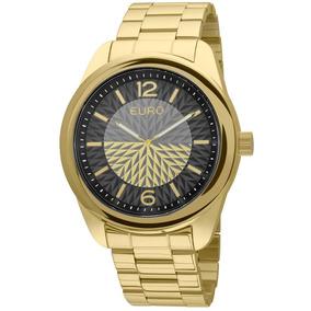 c0fdf074019 Relógio Euro Dourado Time Center - Relógios De Pulso no Mercado ...