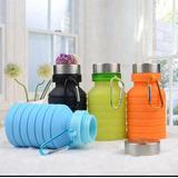 Botella De Agua Plegable Fitness Deporte Gimnasio Economica