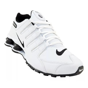 f31d3d9bdc Nike Shox Nz Preto E Branco Com Molas Vermelha Cromado - Tênis no ...