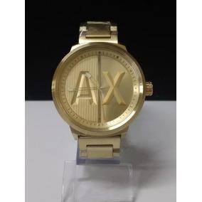 01ad8916859 Relogio Armani Exchange Dourado Original - Relógios no Mercado Livre ...