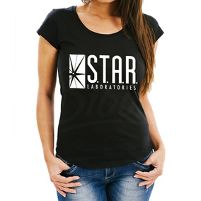 Playera Mujer Star Lab Flash Laboratories Envío Gratis!