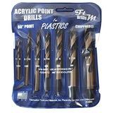 Brocas Para Plexiglas Acrilico Plastico Abs Lexan Policarbon