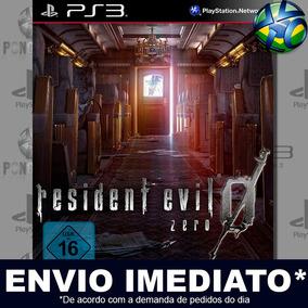 Resident Evil 0 Ps3 Midia Digital Envio Imediato