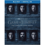 Blu-ray Game Of Thrones: The Complete Sixth Season- Hbo