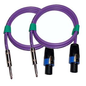 Cable Speakon A Plug (2x1,5mm.) Bafles X 10 Mts X 2unidades
