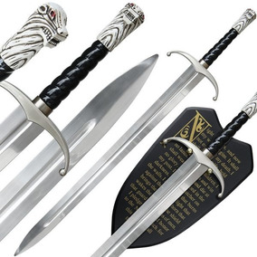 Espada Jon Snow Game Of Thrones Garra Longa (longclaw)