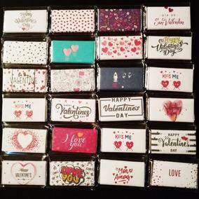 Chocolate 14 De Febrero, Amor, San Valentin Mediano