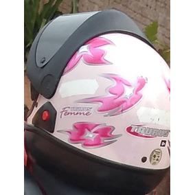 Capacete Rosa Taurus