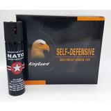 Kit 10 Unidades Do Spray Nato Cs Lacrimogêneo Forte 110ml
