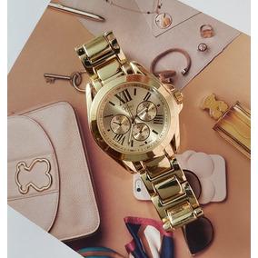 Nuevo Reloj Golden Girl Platinum!! Calidad Premium!! Dorado!
