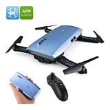 Jjrc H47 Elfie + Drone Plegable - Cámara De 720p, 6 Ejes, 7