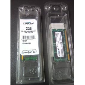 Memoria Ram Crucial Ddr2 2gb 6400 Para Laptop
