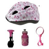 Capacete Bicicleta Infantil Espelho, Buzina Garrafinha515190