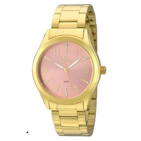 Relógio Allora Feminino Al2035fkl/4t, C/ Garantia E Nf