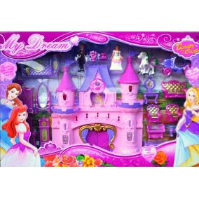 Castillo Princesa Casa Luz Sonido Pony Muñeca Juguete Niña