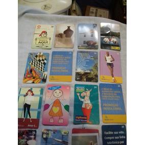 Lote De Cartões Telefônicos Antigos