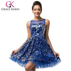 d0f4bcee2 Vestidos Azu Rey Corto Para Mujer De Noche Chihuahua - Vestidos Azul ...