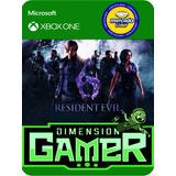 Resident Evil 6 Xbox One No Codigo Offline