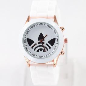 bf218c66bdd Relógio Adidas Branco Com Fundo Rosa - Relógio Adidas no Mercado ...