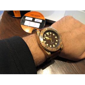 Reloj Helson Shark Diver 45mm Bronze 2000m. Buceo No Omega
