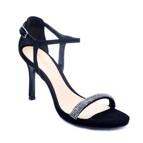 Sandália Salto Fino Preta