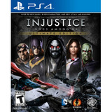 Juego Ps4 Warner Bros Injustice Gods Among Us