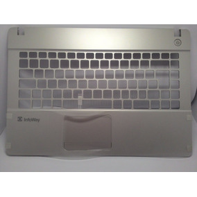 Carcaça Base Notebook Itautec W7730 Pn6-39-w3452-013-n