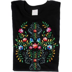 Blusa Bordada Modelo Haydee Flores Mexicanas, Algodón 100%