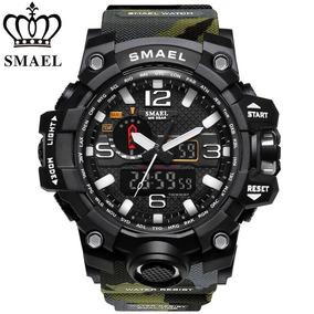Relógio Smael® Camuflado À Prova D