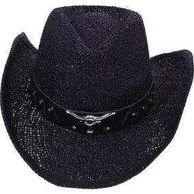 Hombres   Verano Clásico Occidental Del Sombrero De Paja De b3bb2788358