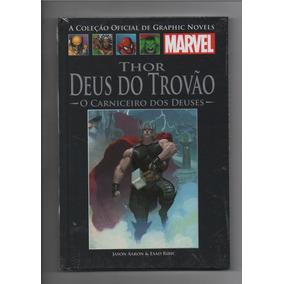 Colecao Oficial De Graphic Novels Marvel Thor Deus Do Trovao