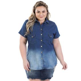 6c99416deb Camisa Casual Feminino Tamanho Xg em Rio do Sul no Mercado Livre Brasil