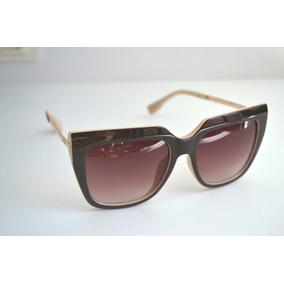 Oculos Feminino Marrom Ferrovia De Sol Outras Marcas - Óculos em ... 3ca4927036