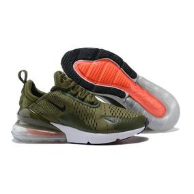 aa2acf45f5167 Tenis Nike Air Max 270 Military Green Envio Gratis