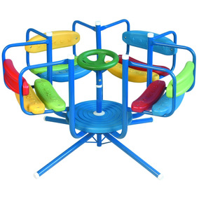 Calesita Jardin Para Niños - Juegos de Aire Libre y Agua en Mercado ...