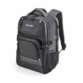 Mochila Armor Para Notebook Preta Até 15.6 Pol. Multilaser