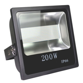 Kit 6 Refletor Led 200w Smd Bivolt Branco Frio Prova D