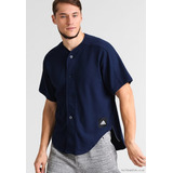 b5b7d83f6efdd Camisa adidas Hombre Urbana Athletics Dugout Shirt Blue