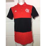 Camisa Polo Adidas Flamengo F85609 no Mercado Livre Brasil 876c4ffde03e2