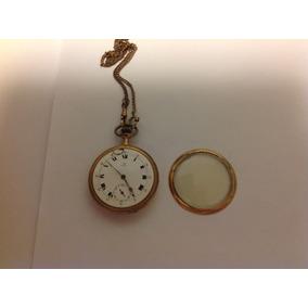 03173634e62 Relogio Omega De Bolso Antigo Banhado Ouro - Relógios no Mercado ...