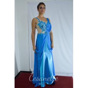 Vestidos para fiestas color azul turquesa