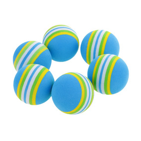 6 Piezas Bolas De Esponja De Golf Suave Pelota De Práctica aa4551899c092
