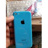 Parte Traseira Do iPhone 5c Azul