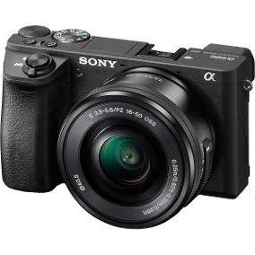 Sony A6500 + Lente 16-50 F/ 3.5 + 3 Baterias Com Carregador
