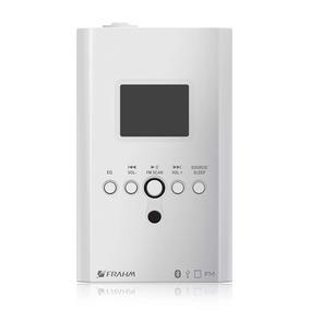 Amplificador De Parede Frahm Slim In Wall 220v Fm Sd Card P2