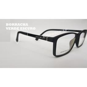 Armacao Oculos Masculino - Óculos Armações Verde escuro no Mercado ... 6adc9eebf5