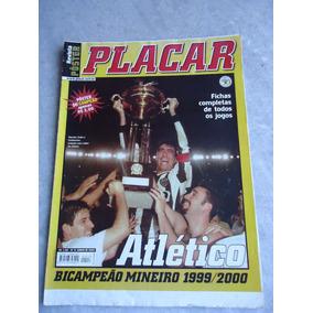 Atletico Mineiro 1999/2000 - Poster Placar Bicampeão Mineiro