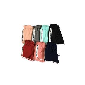 Kit 10 Shorts Curto Praia Feminino Lateral Love Atacado2019