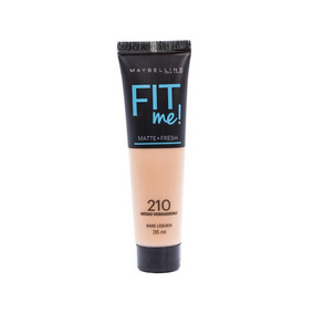 Base Maybelline Fit Me Base Liq Nu 210