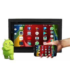 Central Multimidia Com Android Espelha Ios Bt Wifi Tv Usb Sd